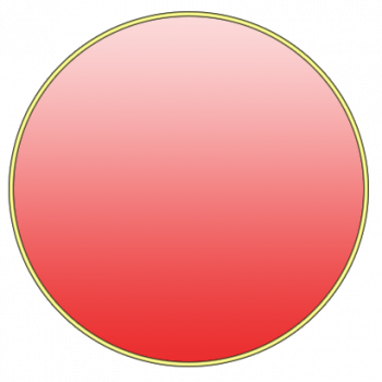 First Circle = You! in gradient red